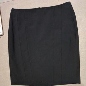 Black Anne Klein business skirt